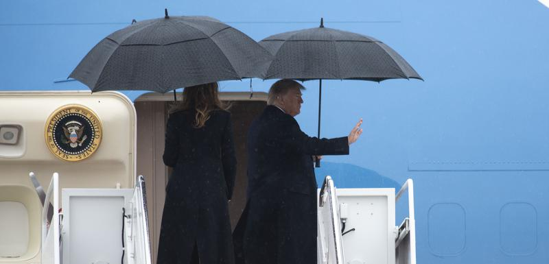 Tramp će danas razgovarati sa Merkel, Makronom i Stoltenbergom