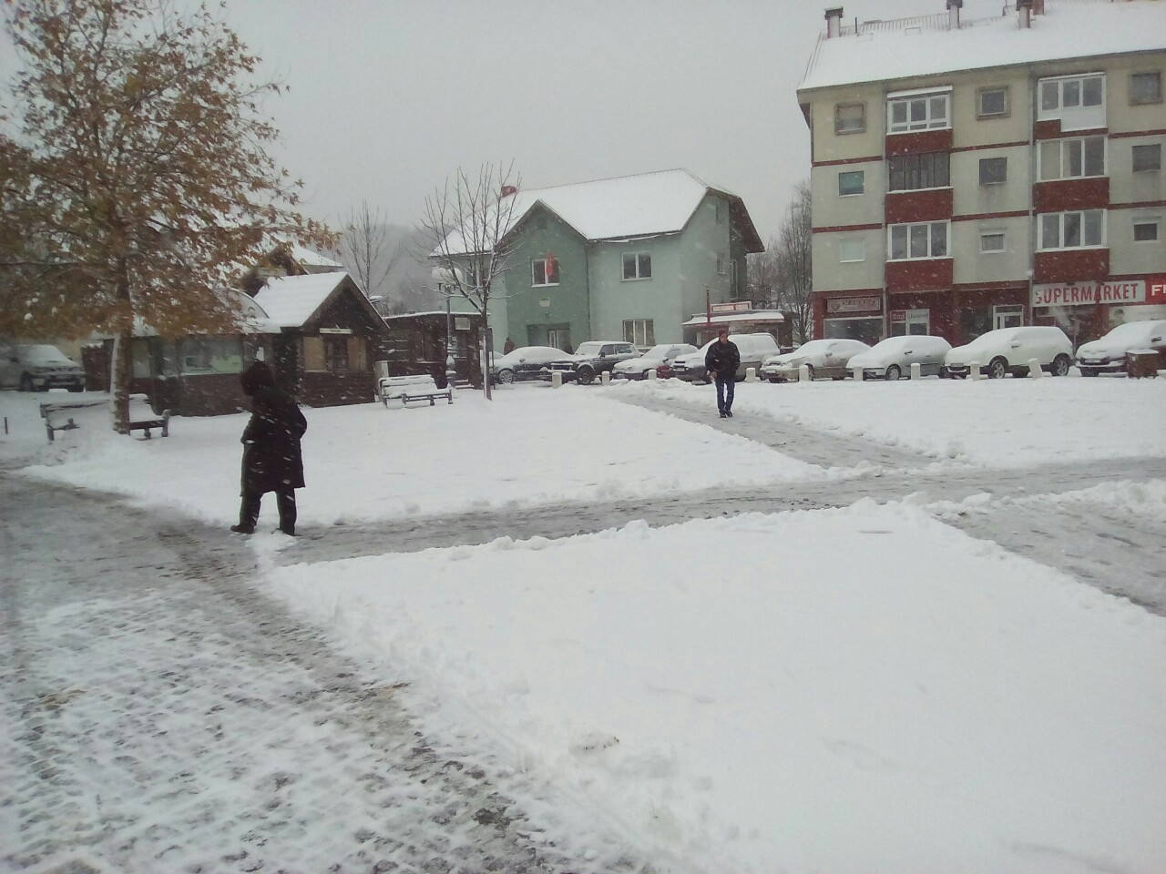 Kolašin pod snijegom (foto: Dragana Šćepanović)