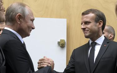 Putin i Makron