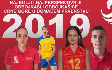 Najbolji odbojkaši i odbojkašice u 2019.