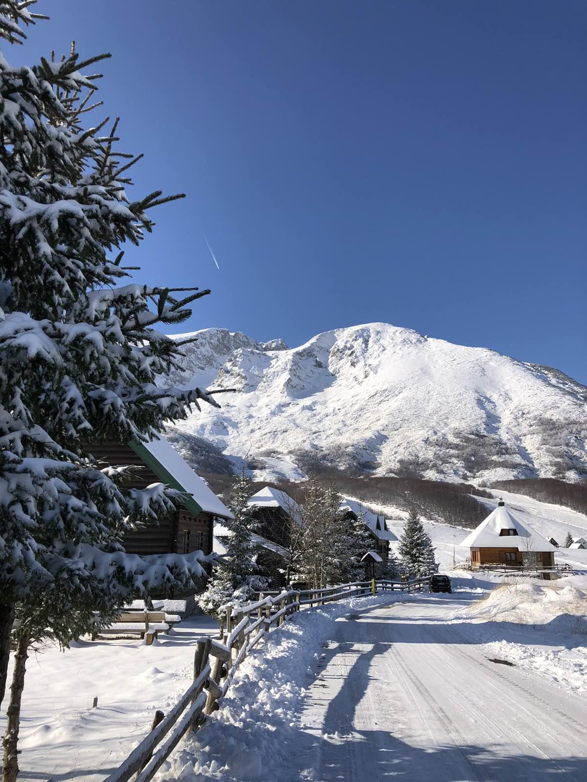 Durmitor pod snijegom (foto: Srđan Obradović)