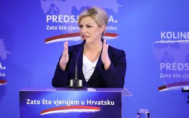 Aktuelna predsjednica Grabar Kitarović predala 230.000 potpisa