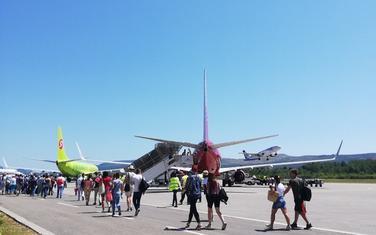 Sa aerodroma u Tivtu (ilustracija)