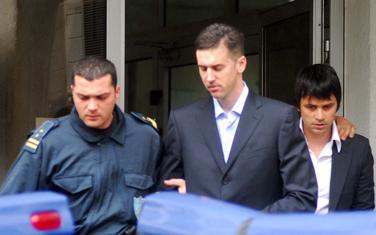 Boreta i Bigović sa jednog od ranijih suđenja