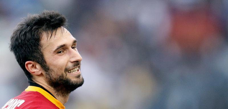 Mirko Vučinić dok je nosio dres Rome