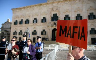 Sa protesta ispred sjedišta malteškog premijera u Valeti