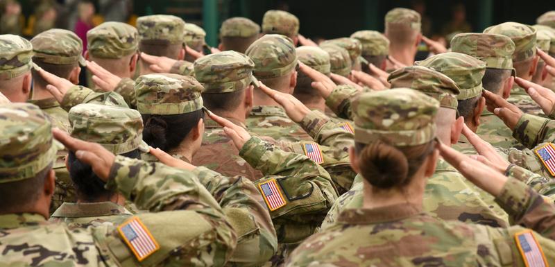 Vojnici SAD: Ilustracija