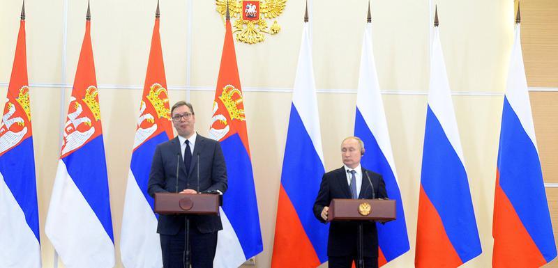 Vučić i Putin u Sočiju