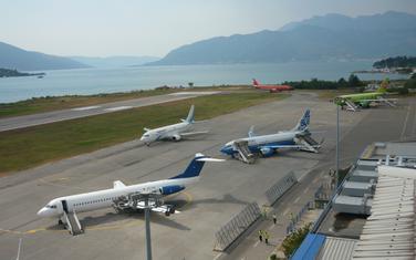 Aerodrom Tivat: Ilustracija