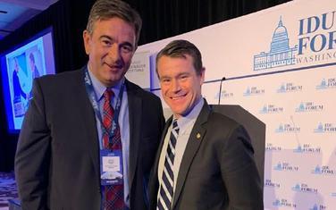 Medojević sa američkim senatorom
