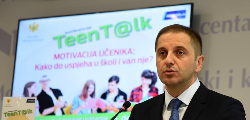 """Šehović na """"Teen T@lk"""" konferenciji"""