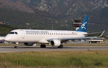 Avion Montenegro erlajnsa: Ilustracija
