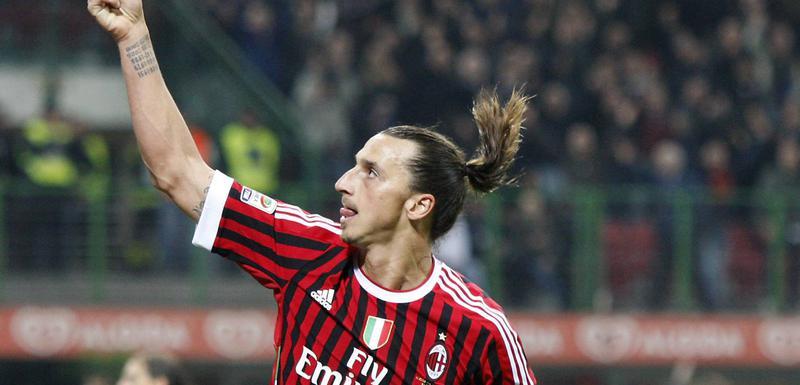 Ibrahimović u dresu Milana