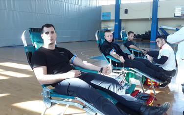 U akciji učestvovalo više od 20 davalaca krvi