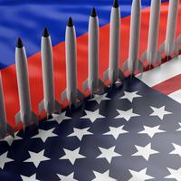 Rusija SAD nuklearno naoružanje (Ilustracija)
