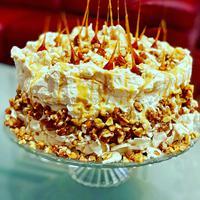 Torta sa karamelizovanim bademima