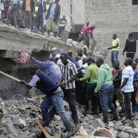 Srušena zgrada u Najrobiju