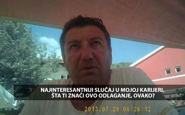 """Sa snimka emitovanog u emisiji """"Načisto"""""""