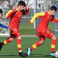Sa meča Crna Gora - Azerbejdžan