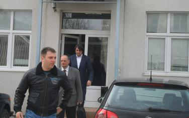 Mijatović (prvi) u društvu sa Bećirovićem