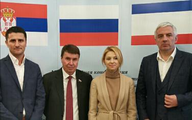 Zogović i Vučurović sa predstavnicima Ruske federacije