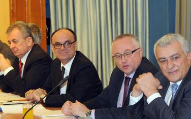 Škrelja i Mandić u ranijem sazivu Odbora za bezbjednost (arhiva)