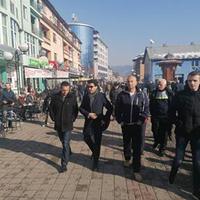 Abazović i rukovodstvo GP URA u Rožajana