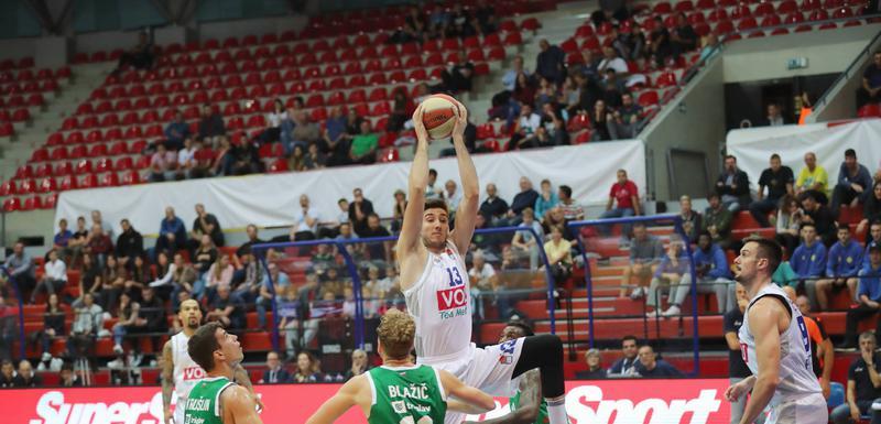 Vrijeme je za revanš: Aleksa Ilić na utakmici ABA Superkupa protiv Cedevita Olimpije