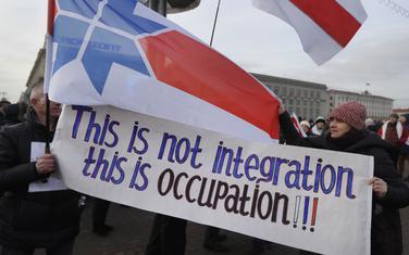 """""""Ovo nije integracija, ovo je okupacija"""": Sa protesta"""