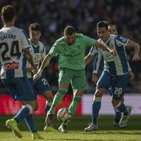 Benzema na meču sa Espanjolom