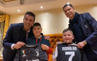 Ronaldo i Bufon sa Aurelom i Alesiom