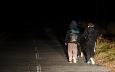 Migranti iz Pljevalja idu ka granici sa BiH