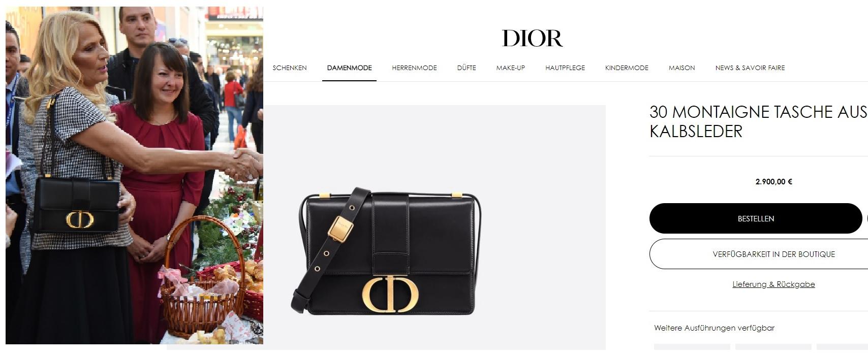 """""""Dior"""" je i torba"""