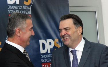 Susret Mila Đukanovića i Duška Kneževića iz 2017. godine