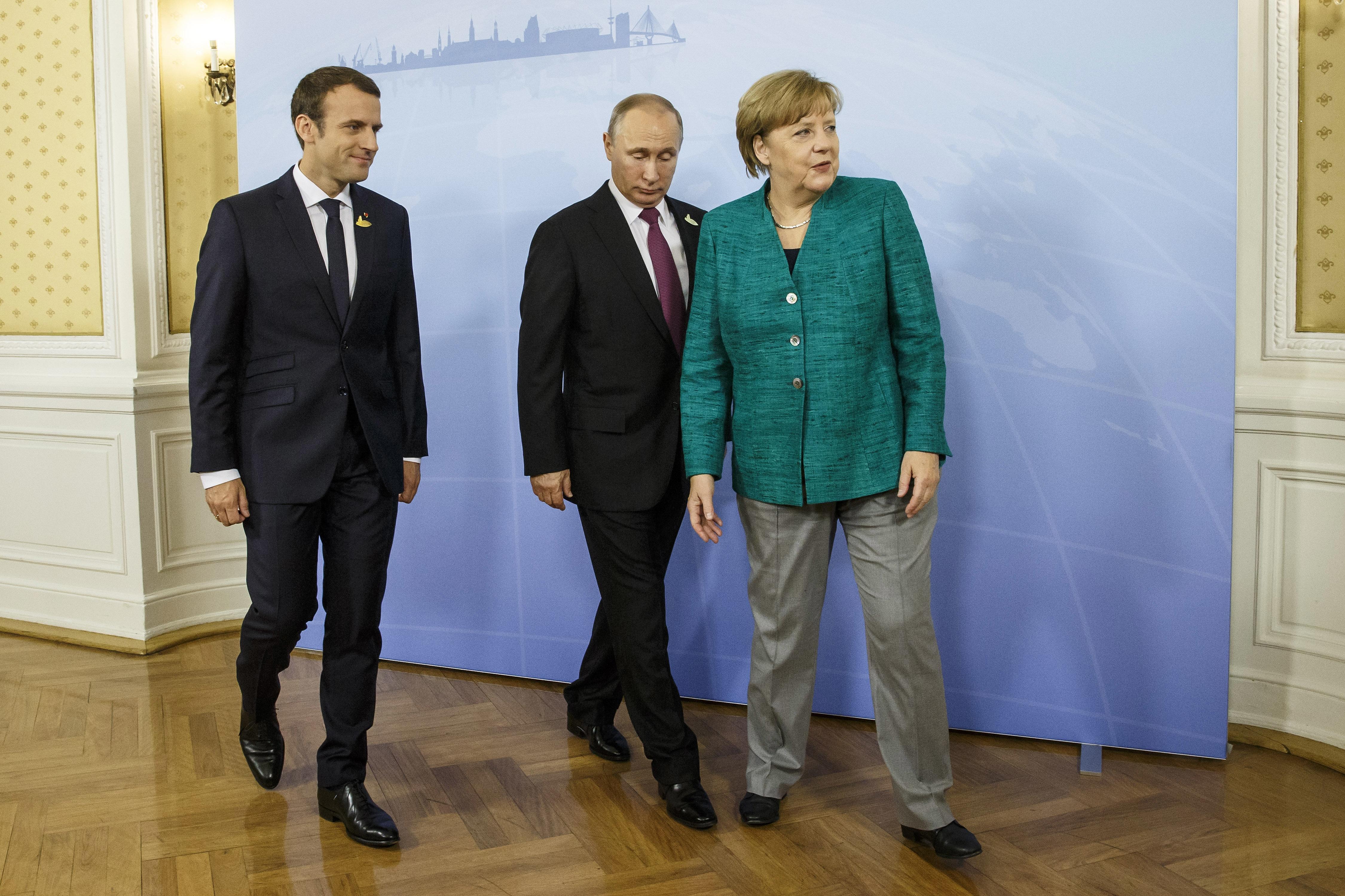 Analitičari smatraju da bi Makron i Merkelova mogli podržati Putina u pregovorima