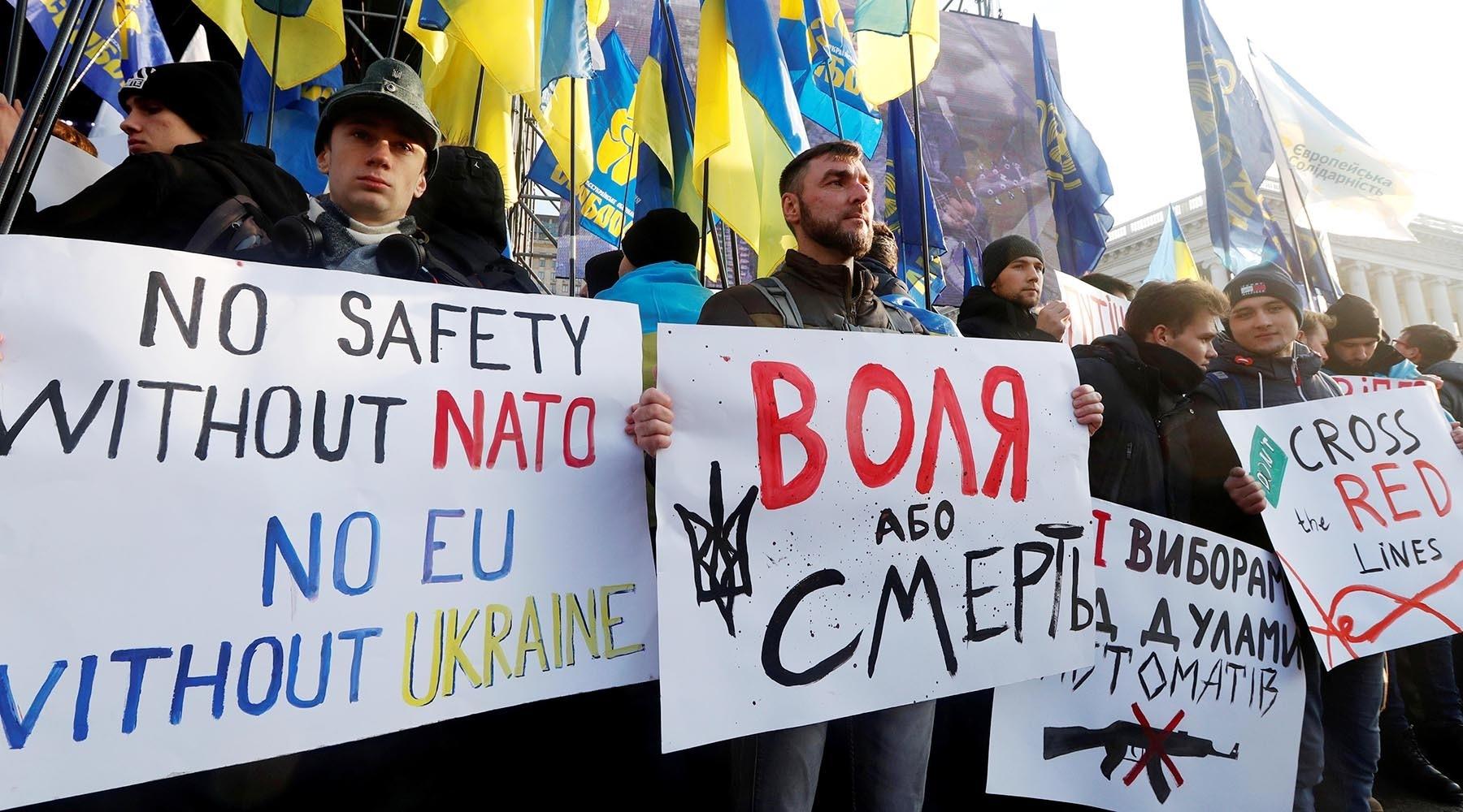 Sa jučerašnjih protesta u Kijevu