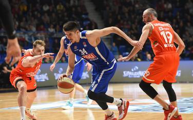 Proširio napadački repertoar: Danilo Nikolić na utakmici sa Cedevita Olimpijom