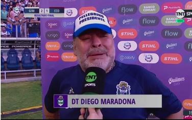 Maradona nakon meča