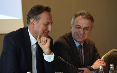 Krivokapić (lijevo)
