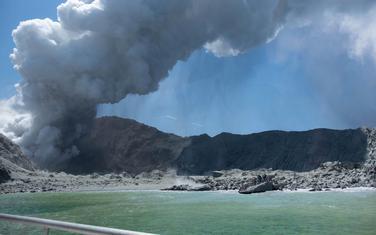 Erupcija vulkana na Bijelom ostrvu