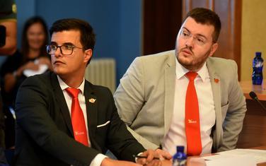 Šaranović i Koprivica, sa ranije sjednice Odbora