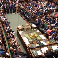 Detalj iz britanskog parlamenta