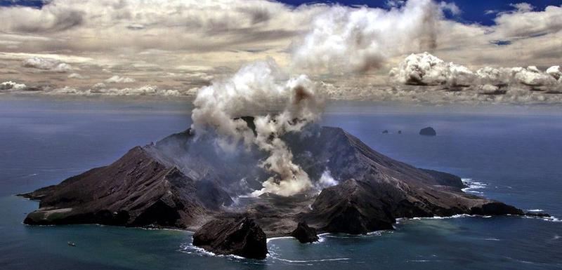 Vulkan na Bijelom ostrvu