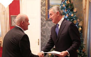 Đukanović sa ambasadorim Grčke