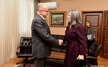 Darmanović i Virdžinija Pina