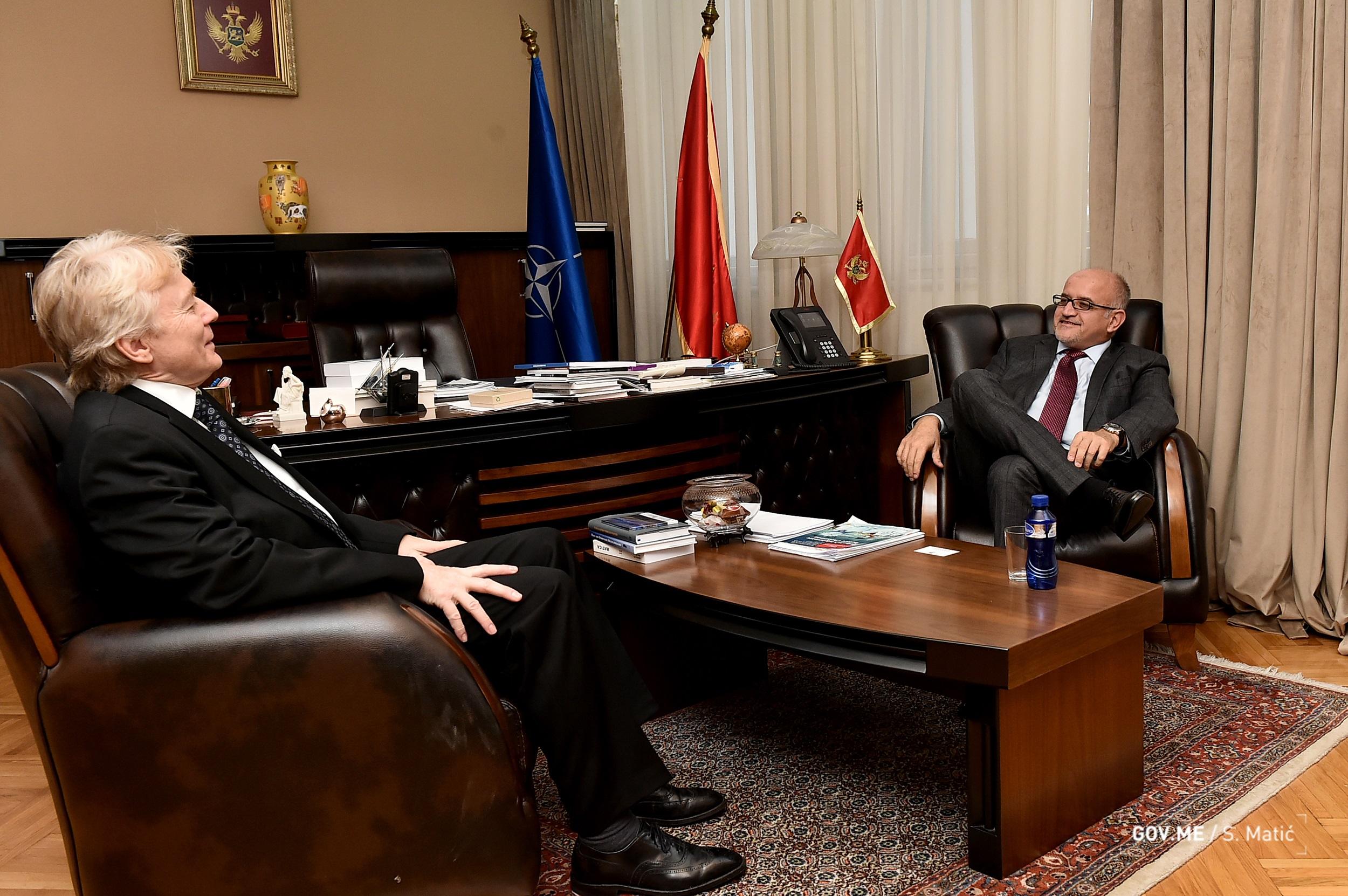 Darmanović i Gjelstad