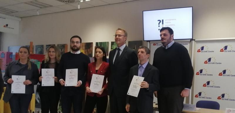 Nagrađeni novinari