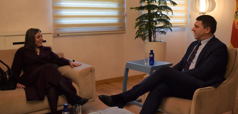 Sa sastanka sa ambasadorkom Portugalije