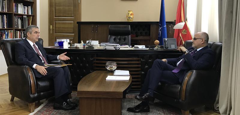 Darmanović sa brazilskim ambasadorom