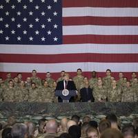 Predsjedinik SAD Donald Tramp tokom jedne od posjeta američkim vojnicima u Avganistanu